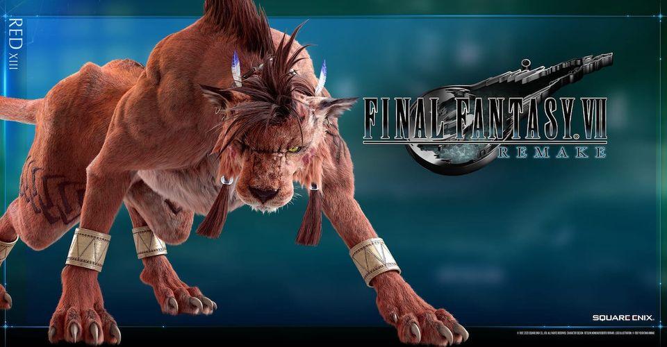 Final Fantasy 7 Remake Save Editor Membuat Red XIII Bisa Dimainkan
