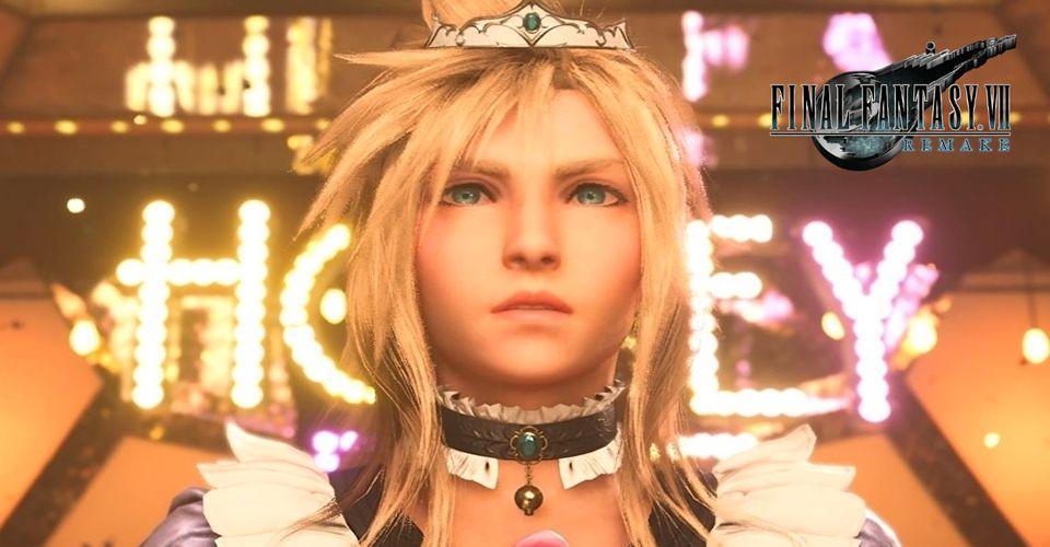 Save Editing Final Fantasy 7 Remake Membuat Cloud Menggunakan Dress Untuk Sepenuhnya
